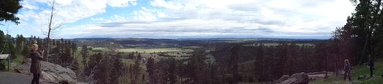 Devils Tower, WY: Vista from the top