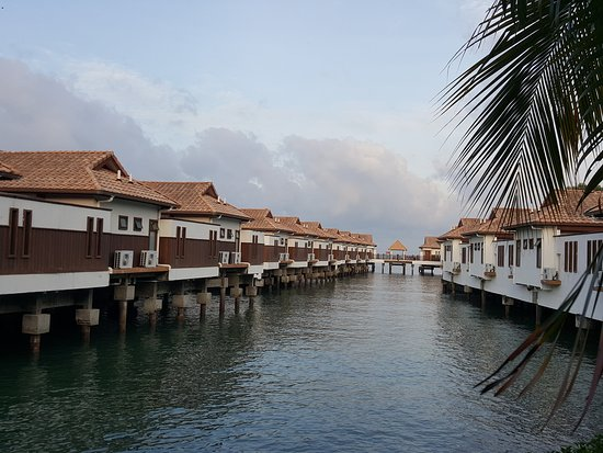 Grand Lexis Port Dickson : External view of water chalets