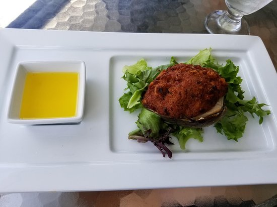 Bourne, MA: Delicious stuffed quahog