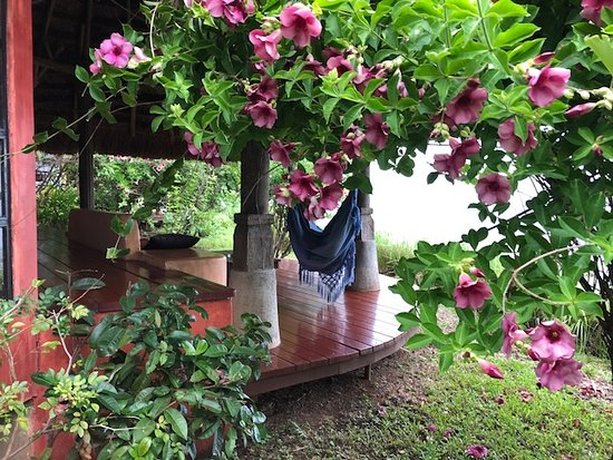 Isla Boca Brava, Panama: our rooms porch