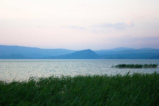 Восточно-Казахстанская область, Казахстан: Бухтарма на закате