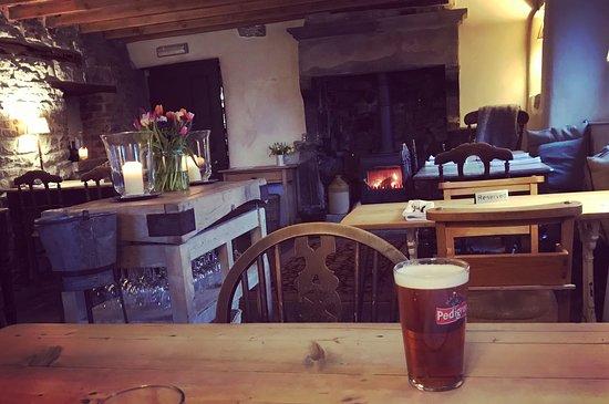 Alstonefield, UK: Main restaurant