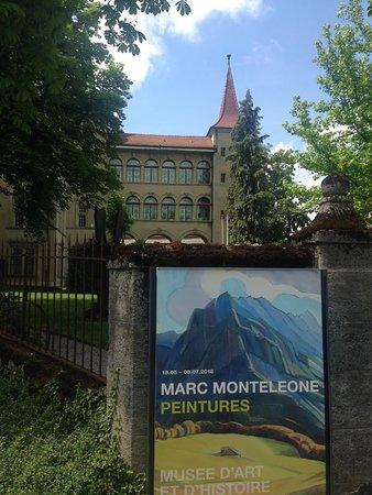 Canton of Fribourg, Switzerland: Vue du musée