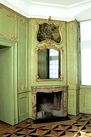Canton of Fribourg, Switzerland: Cabinet vert, vers 1760