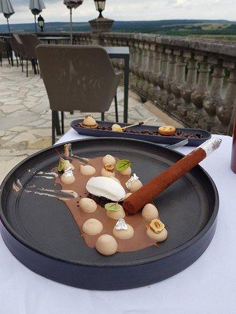 Rolleboise, Frankrijk: Cigare glacé au chocolat