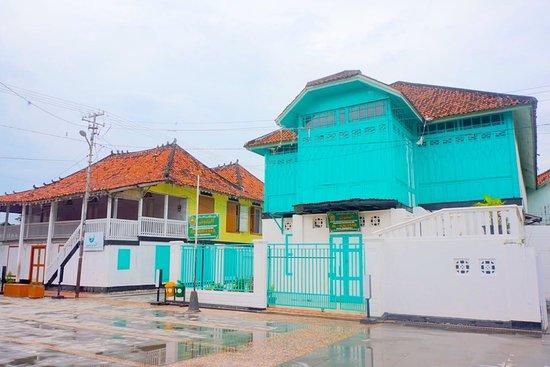 Palembang, Indonesia: salah satu rumah tua di Kampung Al - Munawar