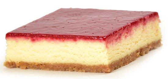 porciones de tartas queso fresa Postres Beinetti