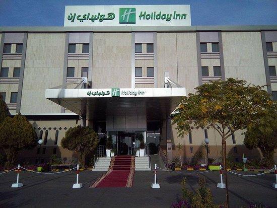 Tabouk, Saudi-Arabia: Hotel's frontal view