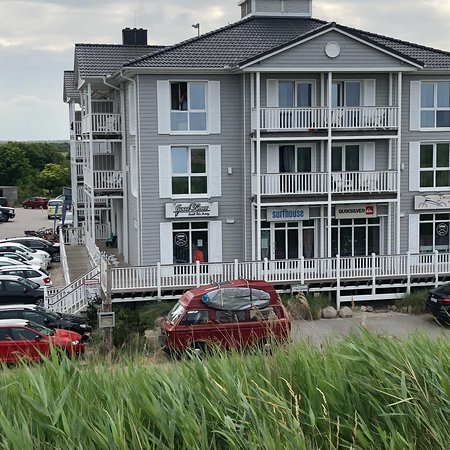 aussenansicht bild von beach motel st peter ording sankt peter ording tripadvisor. Black Bedroom Furniture Sets. Home Design Ideas