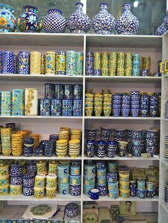 Shiv Kripa Blue Pottery