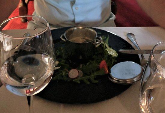Trigance, France: Cassolette d'escargots, un délice