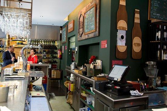 KGB Malaga: Interiort del restaurante