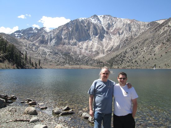 The Restaurant at Convict Lake: A short walk from the restaurant takes one to the most beautiful lake in the world
