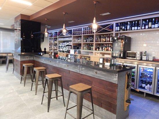 Nuestra barra de bar / cafetería