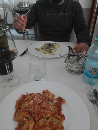 Comano, Olaszország: ravioli e cannelloni