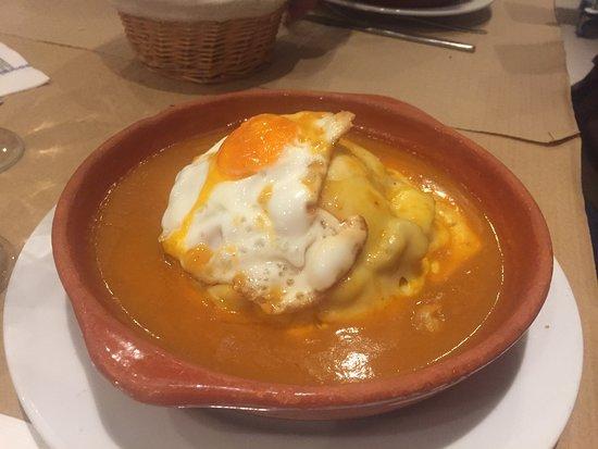 Restaurante Pedro dos Frangos : Francesiña