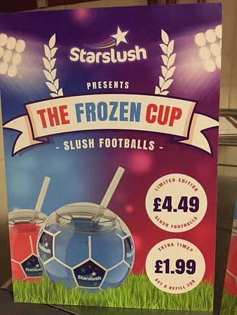 Oldbury, UK: Our limited edition slush footballs for the world cup