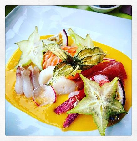 Bomaki Foppa: sashimi exotic