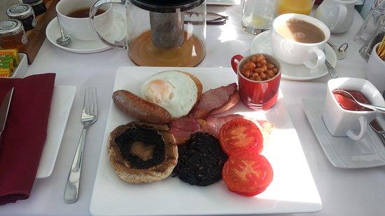 Bure Lodge B&B: Fab breakfast