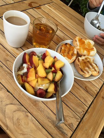 WearActive: One of a few breakfast choices