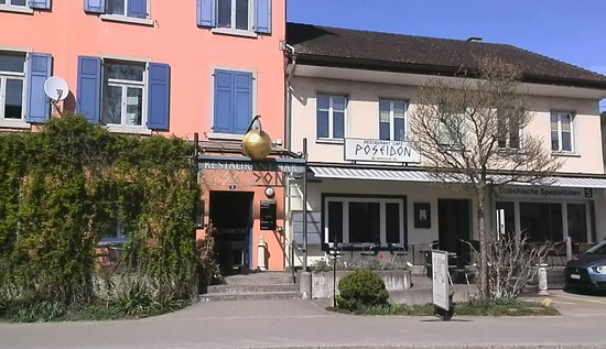 Uster, Switzerland: View of a shop