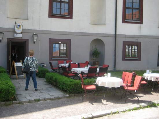 Schlossstuben: Eingangbereich