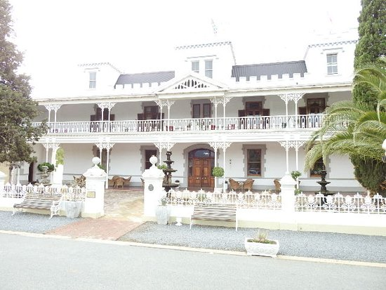 Matjiesfontein, South Africa: The front of the Hotel
