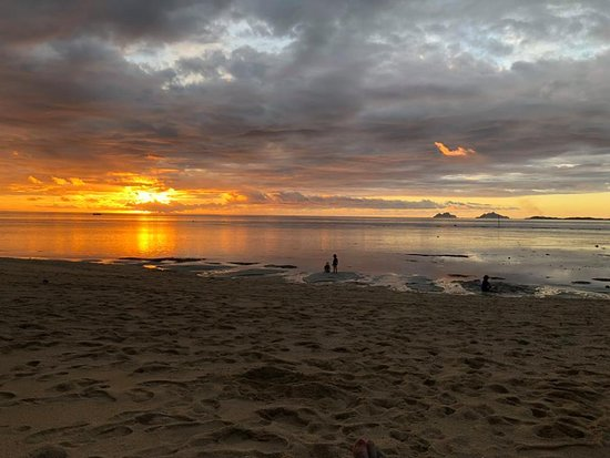 Castaway Island Fiji : Another beautiful sunset..