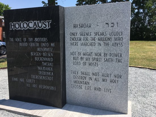 Sumter County Museum: Holocaust Memorial adjacent to the History Center