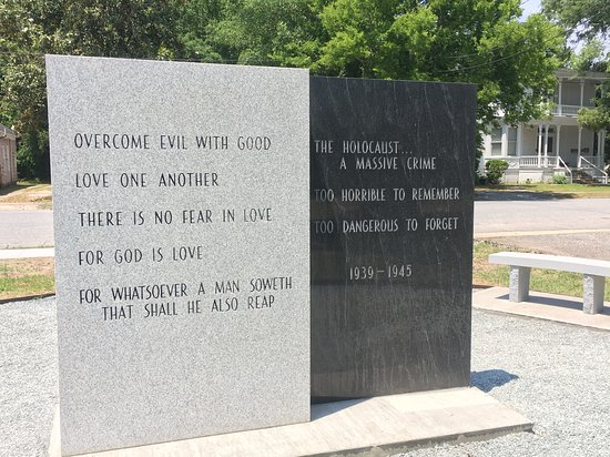 Sumter County Museum: Reverse of Memorial