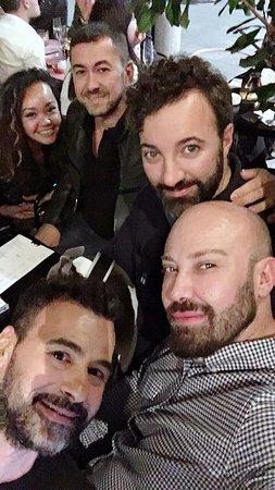 Memà: The gang is enjoying an amazing Gin & Tonic