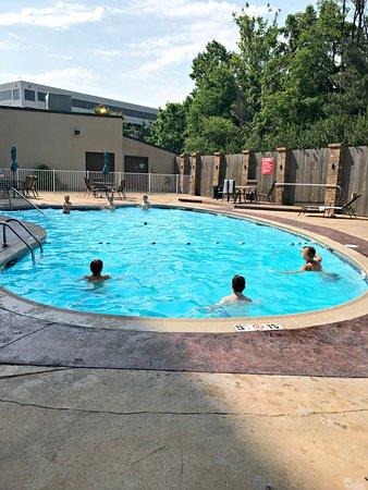Claymont, DE: Clean, nice pool area