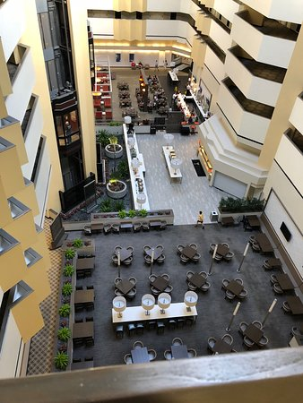 Embassy Suites by Hilton Boca Raton: View of hotel atrium from the 6th floor