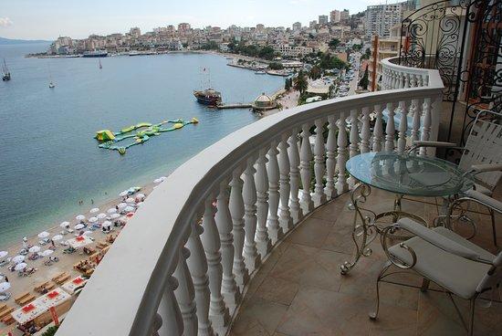 Beach - Picture of Hotel Il Conte Di Monte Cristo, Saranda - Tripadvisor