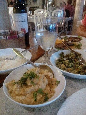 Costa Brava Restaurante: Esta é uma parte do nosso jantar, que estava maravilha.