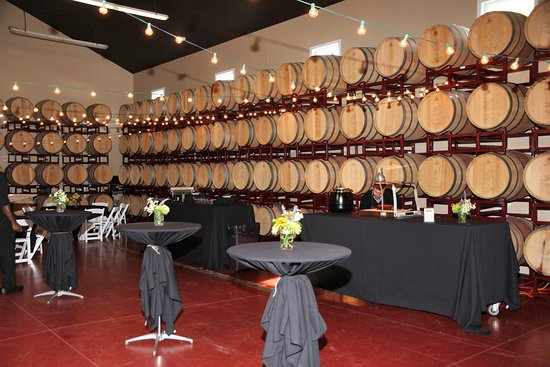 The Blind Horse Winery: Our winery is a wonderful place for a party!
