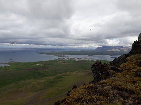 Akranes, Islande : Akrafjall Mountain
