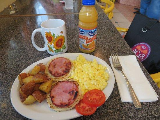 Sunflower Cafe: Breakfast