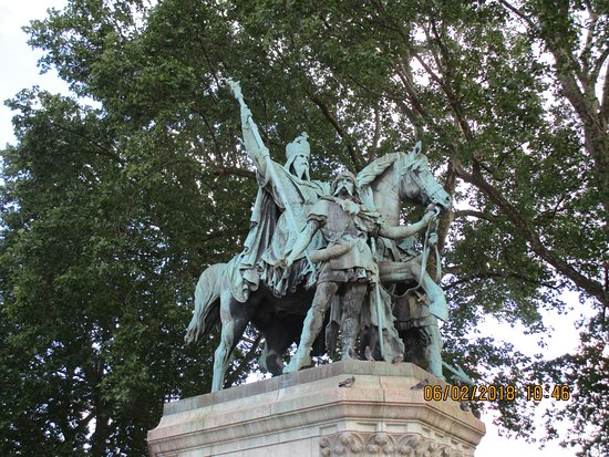 Equestrian Statue of Charlemagne