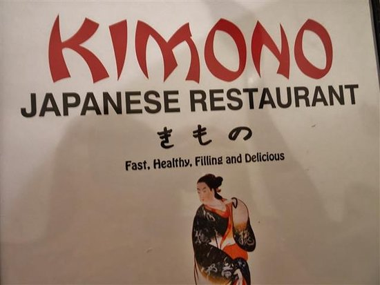 Kimono Japanese Restaurant and Sushi: Menu.