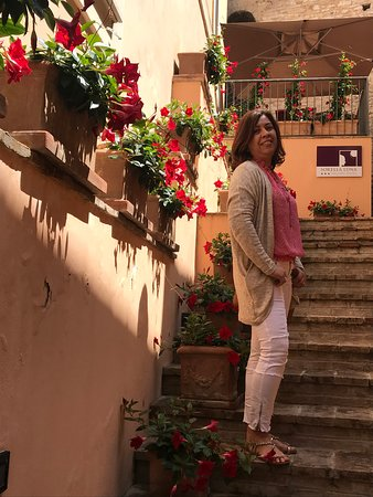 Hotel Sorella Luna: Entrada do Sorella Luna