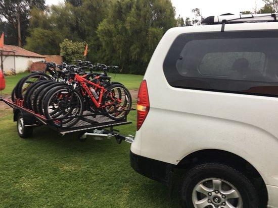 Bike it Chia: Llegamos!