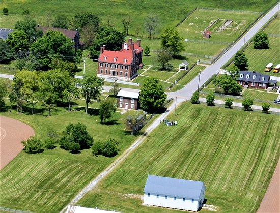 South Union Shaker Village is located on 500 acres of beautiful Kentucky farmland
