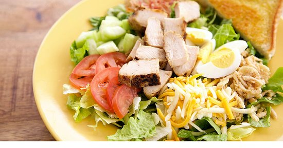 Cobb Zalad With Grilled Chicken Picture Of Zaxby S Kansas City