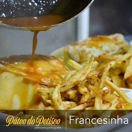 Pica pau (iscas de carne com picles misto de legumes, mostarda e ...