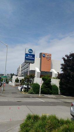 Best Western Executive Inn: vista hotel