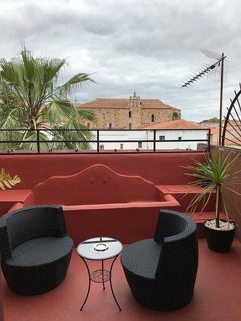 Hotel la Boheme: terraço