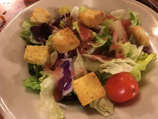 Washington, LA: House Salad with homemade Raspberry Vinaigrette