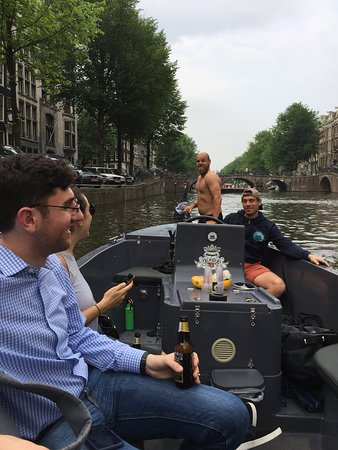 Those Dam Boat Guys: when your captain casually jumps off the boat into the canal
