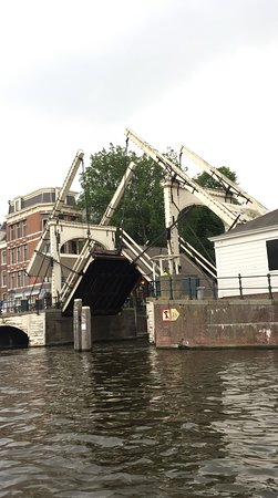 Those Dam Boat Guys: rare to see old drawbridge in action